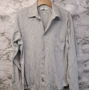 Geoffrey Beene Mens Button Down Shirt Mens 15 1/2
